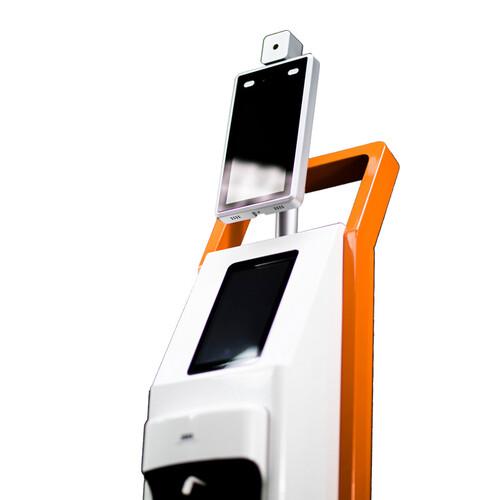 세이프패스19-QR 일체형 안면인식 온도 감지기