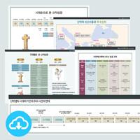 성경 인포그래픽 신약 관련 세트 2 (전8종) by 규장굿즈 / 이메일발송(파일)