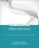Philippians: A Commentary for Biblical Preaching and Teaching (Kerux) (Hardcover)
