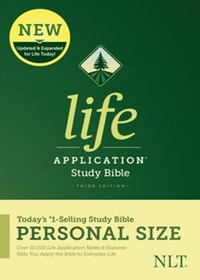 NLT: Life Application Study Bible NLT, Personal Size (PB)