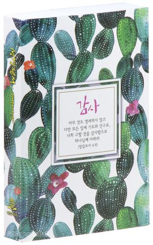 기념성경 소 단본 - 감사 (페이퍼백/무색인/NKR61ETHU)