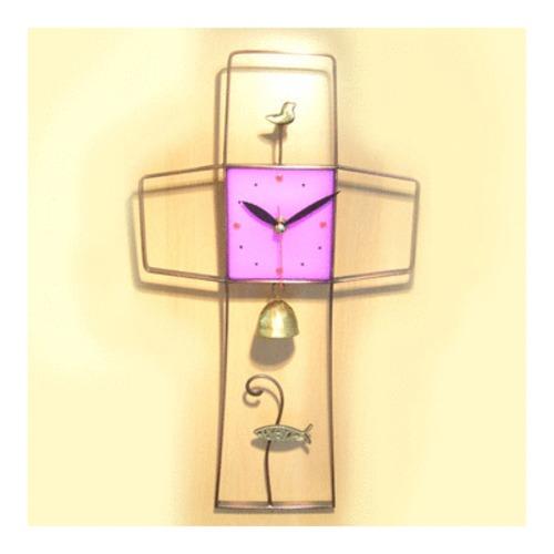 수공예 십자가 시계(by 박해용 작가)