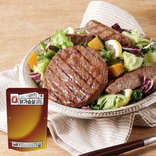 [아침] 아침닭가슴살 - 스테이크 갈비맛 1팩
