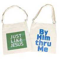 크로스에코백 Just like Jesus 지저스 & By Him 바이힘 6902