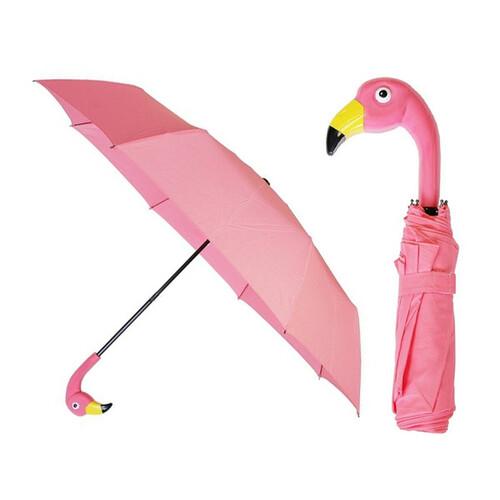 마그넷 플라밍고 우산 폴드