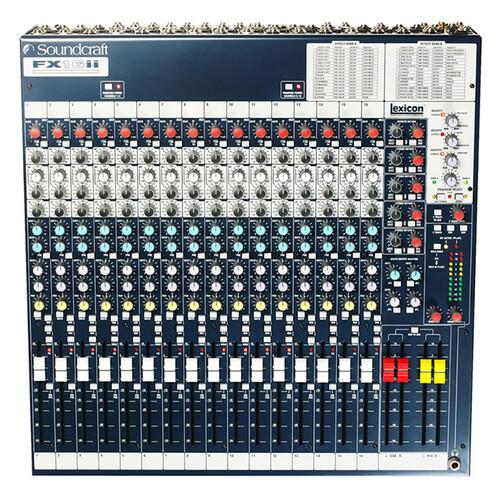 Soundcraft FX16ii 아날로그 믹서