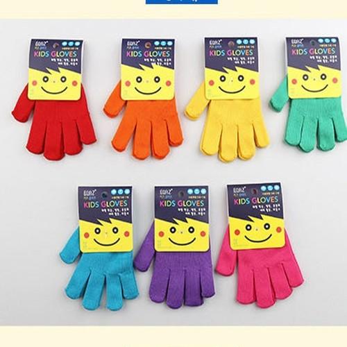 어린이체험 극세사장갑 사이즈선택 색상램덤