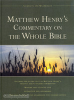 Matthew Henrys Commentary on the Whole Bible (Hardcover)