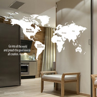 (그래픽 스티커)세계지도