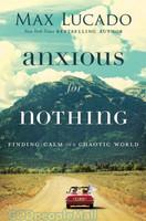 Anxious For Nothing (PB) - 아무것도 염려하지 말라 원서