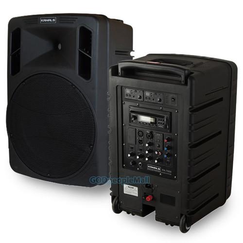 카날스 BK-1240 충전식 휴대용 스피커