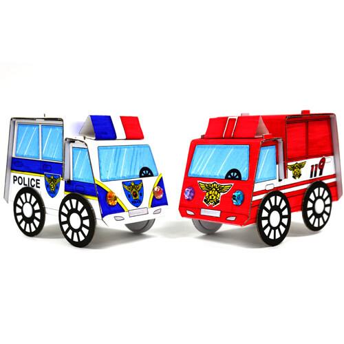 [만들기패키지] 부릉부릉 자동차(5개이상구매가능)