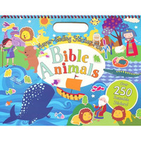 Never-Ending Sticker Fun: Bible Animals (PB)
