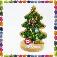 스칸디아모스 이끼로 꾸미는 크리스마스 미니 트리 만들기1 트리 이끼30g 세트