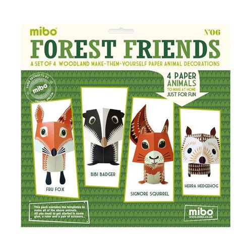 [미보 종이접기]Forest Friends-06