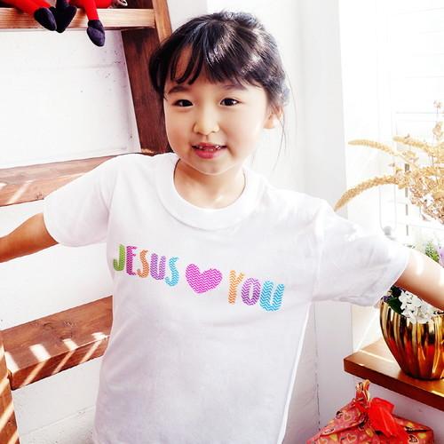 [갓키즈 티셔츠] LOVE (JESUS♥YOU)