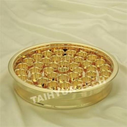 금 성찬기 HitAL-50 (밑판 1개   알루미늄컵 50개)
