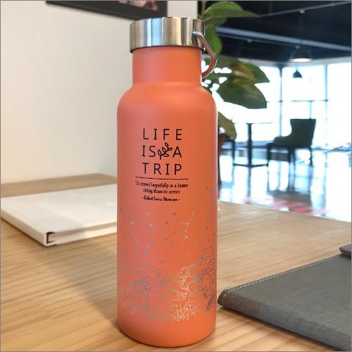 제이씨핸즈 인생은여행 텀블러 [오렌지] 보틀 BPA FREE