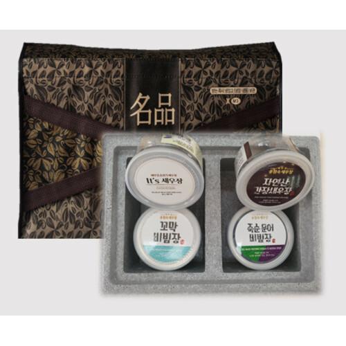 [송점숙새우장] 선물세트 종합 5호/6호 (300g 4개)