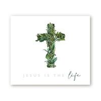 부활절 영상 배경 현수막 - Jesus is the Life