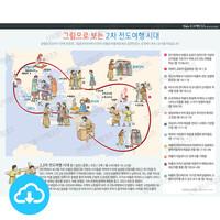 성경 인포그래픽 28 그림으로 보는 2차 전도여행 by 규장굿즈 / 이메일발송(파일)