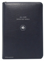 ALL NEW  굿데이성경 미니 합본 (색인/친환경PU소재/지퍼/네이비)