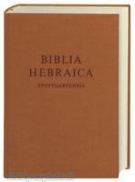 Biblia Hebraica Stuttgartensia (BHS), Standard Ed.: Hebrew Bible - Hardcover