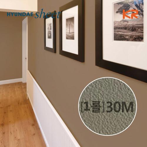 [인테리어시트지] FSL5561 카키 브라운 방염필름 30M