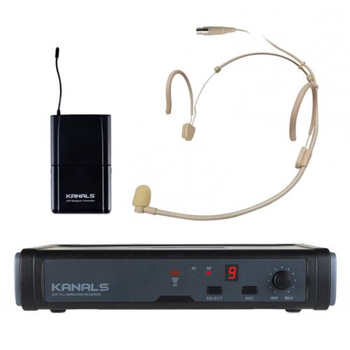 카날스 BK-7001N / ET-901 무선 헤드셋 마이크
