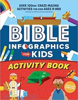 Bible Infographics for Kids Activity Book: Over 100-ish Craze-Mazing Activities for Kids Ages 9 to 969 (양장본)