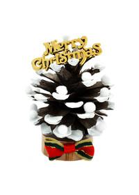 크리스마스-솔방울 미니 트리만들기(10개 묶음)