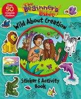 Beginners Bible Wild About Creation Sticker and Activity Book