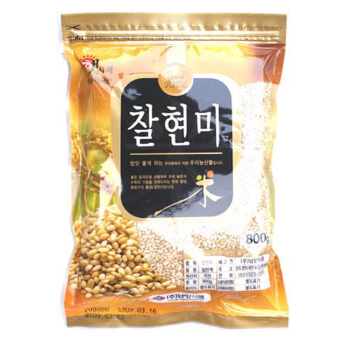 100% 국내산 찰현미 (800gX4봉지)