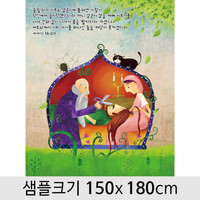 교회현수막(삼손)-058  ( 150 x 180 )
