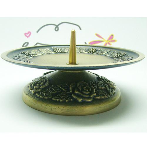 촛불 예배용 촛대 (대) - 포도송이무늬 (1EA)