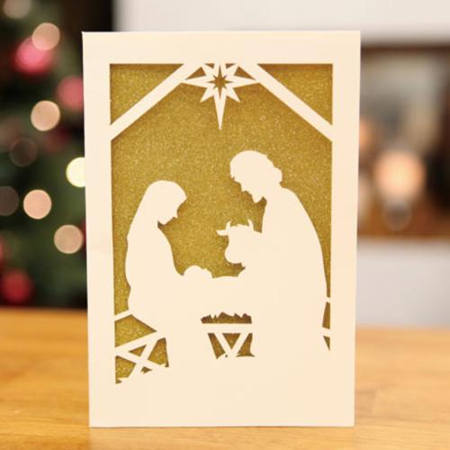 하베스터 크리스마스 카드 - 겸손한 탄생 2