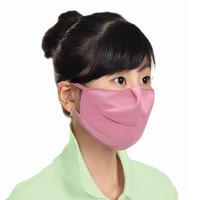 (한셀)신형턱받침 자외선 차단 마스크 / 민무늬 3개