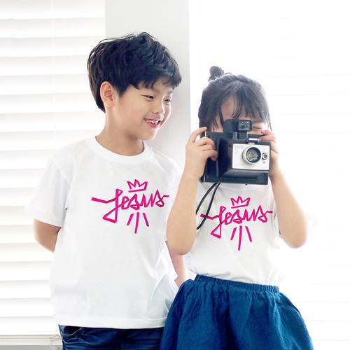 [갓키즈 티셔츠] Jesus(Pink)