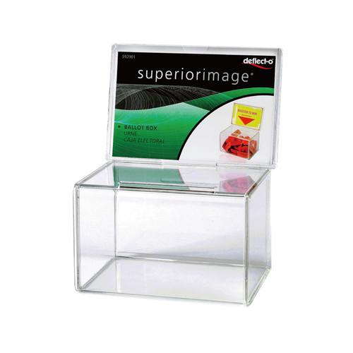 F7001 - 투명박스 상자 투표함 명함수거케이스