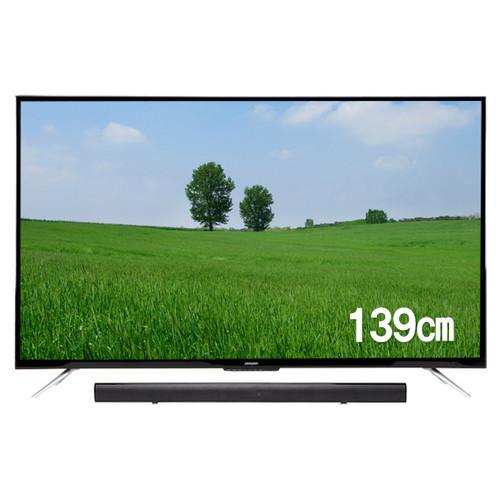 주연전자 55인치 UHD TV JYE-K550U + JE-SB40 사운드바