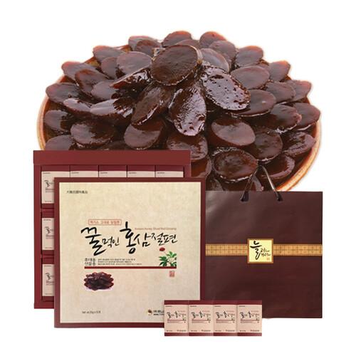 금산양전 꿀먹인 홍삼절편 실속형 (20gX10봉)