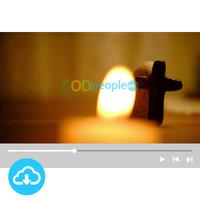 십자가 배경영상 3 by 빛나는시온 / 이메일발송(파일)