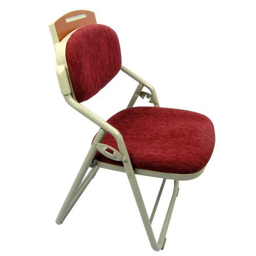 교회용 접이식 의자 EP203M(아래 선반 없음)
