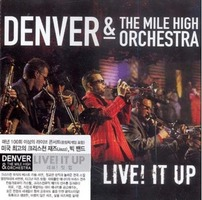 DENVER & THE MILE HIGH ORCHESTRA - LIVE! IT UP (CD)