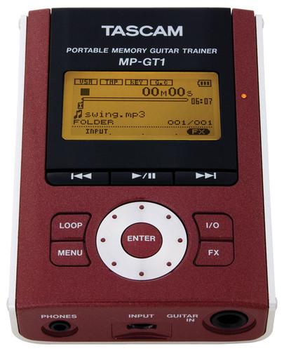 Tascam MP-GT1 포터블 MP3 기타 트레이너