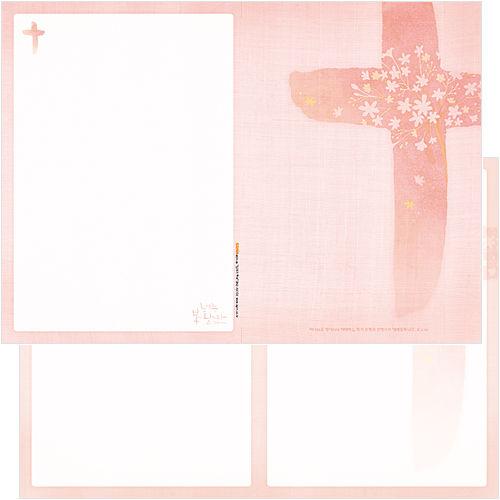 십자가주보 A4(4면/양면) A4104