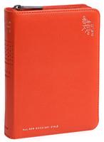 올 뉴 굿데이성경 특미니 합본(색인/친환경PU소재/지퍼/오렌지)