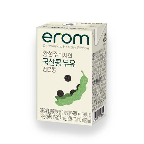 황성주 국산콩 건강한 검은콩 두유 140ml (24입)
