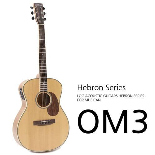 로그 2020 Hebron OM3 어쿠스틱 기타