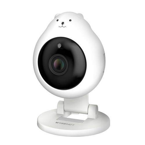 한화테크윈 와이즈넷 HNB-E61 고정형 아기곰 홈 카메라